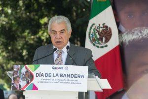 La Bandera de México, símbolo de unidad, firmeza y esperanza: Héctor Anuar Mafud