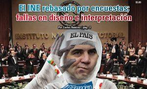 El INE rebasado por encuestas; fallas en diseño e interpretación:  Carlos Ramírez