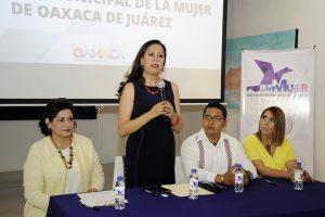Firma Instituto Municipal de la Mujer convenio de colaboración con la Defensoría Pública del Estado de Oaxaca