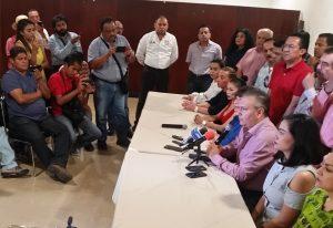 A ex gobernadores de Oaxaca les debo respeto, no obediencia: Héctor Pablo