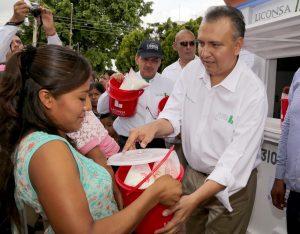 En 5 años, Liconsa incrementó en 43% lecherías en la zona rural