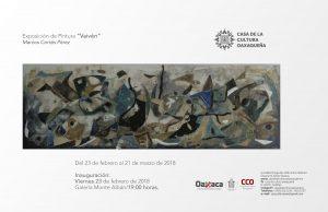 Llega a la Galería Monte Albán la obra del Maestro Marcos Cortés Pérez