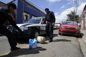 Realiza Alcaldía Municipal y la Comisaría de Vialidad retiro de objetos en la vía pública