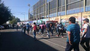 S-22 y normalistas protestas en la DDHPO