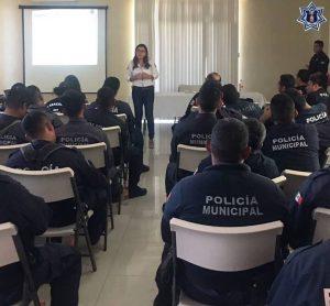 Sensibiliza SSPO a policías municipales para prevenir violencia de género