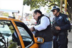 Asegura Sevitra unidad ilegal en operativos al transporte público