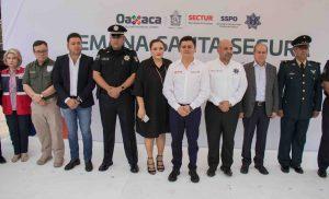 SECTUR Oaxaca y SSPO dan banderazo de salida del Operativo Semana Santa Segura 2018