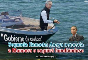 Segunda llamada: Anaya necesita a Mancera o seguirá hundiéndose: Carlos Ramírez