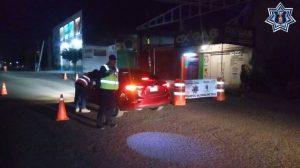 Detenidos 26 conductores en Operativo Alcoholímetro durante el primer fin de semana de marzo