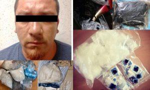 Detiene Fiscalía General a distribuidores de drogas   y desmantela el lugar donde las procesaban