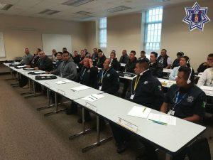 Reciben elementos de seguridad y custodia de la SSPO capacitación en los Estados Unidos