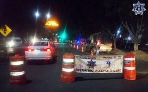 Detiene SSPO a 30 conductores en el operativo alcoholímetro