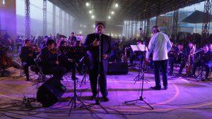 Orquesta Primavera presente en la fiesta anual de  Santiago Zacatepec