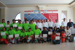 Clausuran trabajos de curso de rescate acuático y entregan equipo: CEPCO