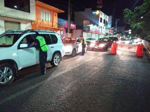 Detiene Policía Vial a 23 conductores en Operativo Alcoholímetro