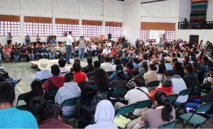 La Sierra Norte unida en apoyo a Raúl Bolaños Cacho Cué