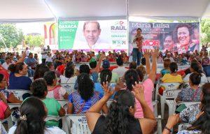 El bienestar social del Istmo es prioridad: Raúl Bolaños Cacho Cué