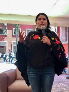 México quiere una Presidencia con valores: Eufrosina Cruz