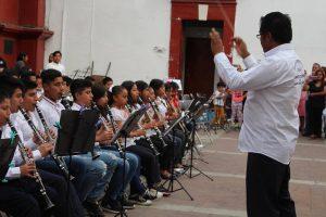 """Admiración total a la Banda Filarmónica, infantil y juvenil """"Santa Lucía"""" en su primer concierto monumental"""