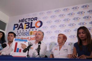 Héctor Pablo alcanza y remonta al PRI en sólo 12 días de campaña