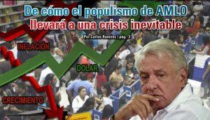 De cómo el populismo de AMLO llevará a una crisis inevitable: Carlos Ramírez