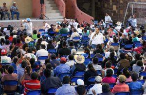 Juntos vamos a recuperar la tranquilidad y riqueza de Nochixtlán: Raúl Bolaños Cacho Cué