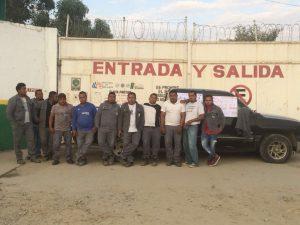 Protestan Trabajadores de Servi Gas en Pinotepa