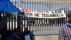 Habitantes de Teojomulco cierran Ciudad Judicial