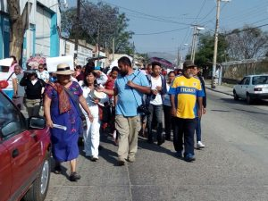 Padres de Familia de la Telesecundaria de San Juanito piden alto al conflicto de los mototaxis