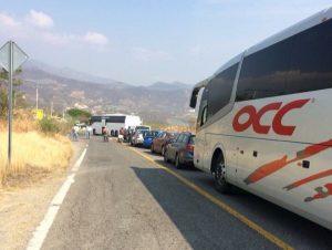 FALP bloquea carretera al Istmo