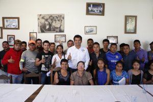 """""""Al Frente Por México"""" se suman soltecos y vaticinan el triunfo de Juan Iván Mendoza Reyes"""