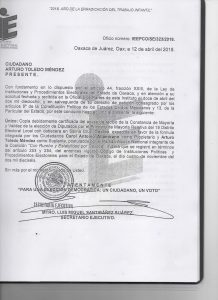 Carol Antonio Altamirano o ¡Al diablo la ética política!: Alfredo Martínez de Aguilar