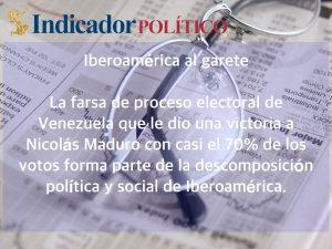 Iberoamérica al garete: Carlos Ramírez