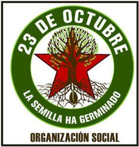 Anuncia la Organización 23 de octubre una movilización contundente en el estado