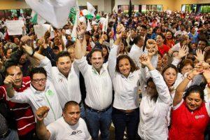 Lista la militancia de Santa Lucía para llevar al triunfo a Raúl Bolaños Cacho Cué