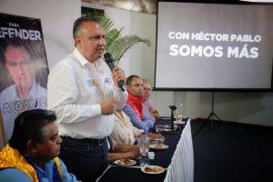 Voto útil por HP garantiza transformación  de Oaxaca y México