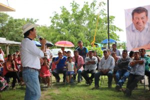Confía Juan Iván Mendoza en ganar la elección el 1 de julio