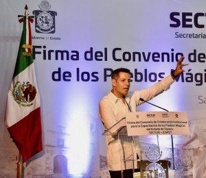 Histórico acuerdo para detonar nuestros Pueblos Mágicos: *Francisco Ángel Maldonado Martínez