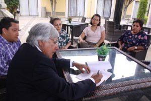 Diálogo democrático con organizaciones sociales, propone Raúl Castellanos