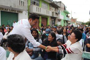 Piden habitantes de Santa Lucía seguir con resultados, afirman que su voto es para Raúl Cruz