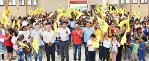 Suma Samuel Gurrión compromisos con vecinos de la zona norte de la capital de Oaxaca