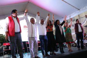 Llaman Dante Montaño y Susana Harp a votar por el cambio verdadero