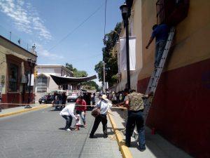 FIPOO bloquea calles del centro de la ciudad