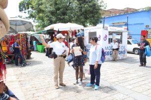 Garantizada la seguridad en Oaxaca para disfrutar  de la máxima fiesta: SSPO