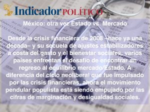 México: otra vez Estado vs. Mercado: Carlos Ramírez