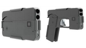 Compañía entrega primeros 'teléfonos celulares-pistola' a clientes