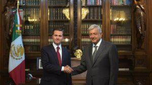 A las 18:00 h. será reunión entre Peña Nieto y López Obrador