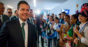 """""""Caliento global"""": dice Peña Nieto en inauguración del Mundial de Robótica"""