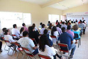 Inaugura ICAPET curso de zapoteco en San Martín Tilcajete