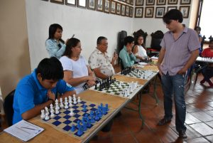 Palacio Municipal sede de partidas de ajedrez